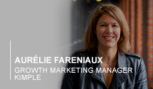 Portrait Aurélie, Growth marketing manager