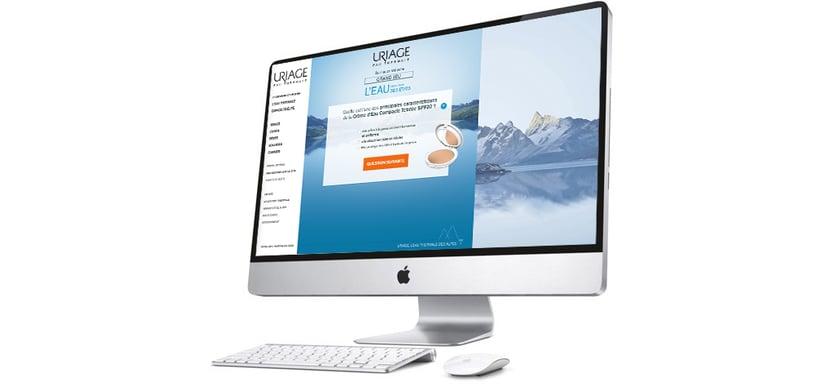 Jeu concours quiz Uriage écran desktop